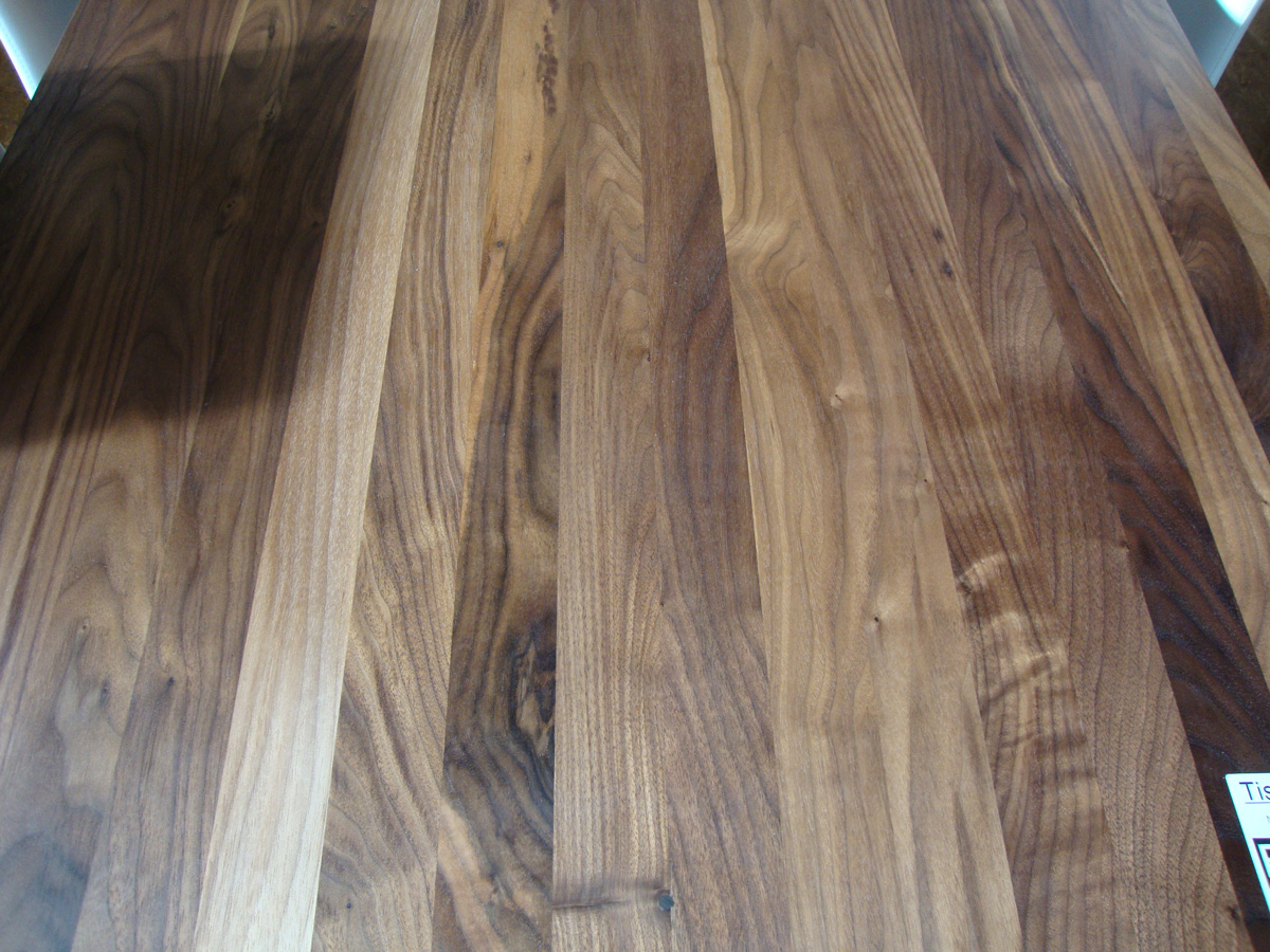 Tischplatte Massivholz Nussbaum ~ EdelSchnäppchen Tisch Nussbaum massiv 200 x 90 cm
