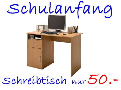 schulanfang schreibtisch nur 50. Black Bedroom Furniture Sets. Home Design Ideas